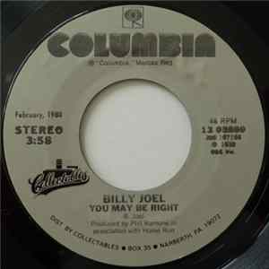 Billy Joel - You May Be Right / She's Got A Way herunterladen
