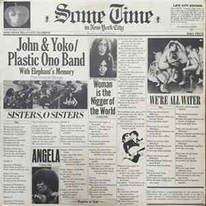 John & Yoko / The Plastic Ono Band - Some Time In New York City herunterladen